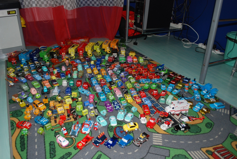 Notre collection Cars (2/6)
