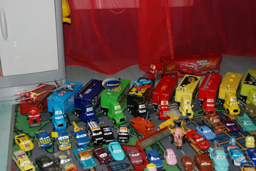 Notre collection Cars (3/6)