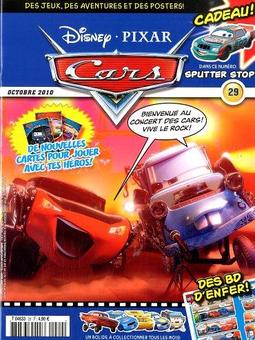 magazine disney pixar le monde de cars octobre 2010 29 disneycarsmania. Black Bedroom Furniture Sets. Home Design Ideas