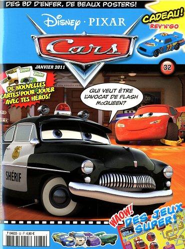 Magazine disney pixar cars janvier 2011 32 disneycarsmania - Coloriage cars wingo ...