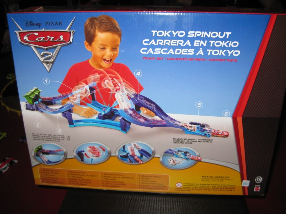 Disney Pixar Cars 2 : Toy Fair 2011 New York (5/6)