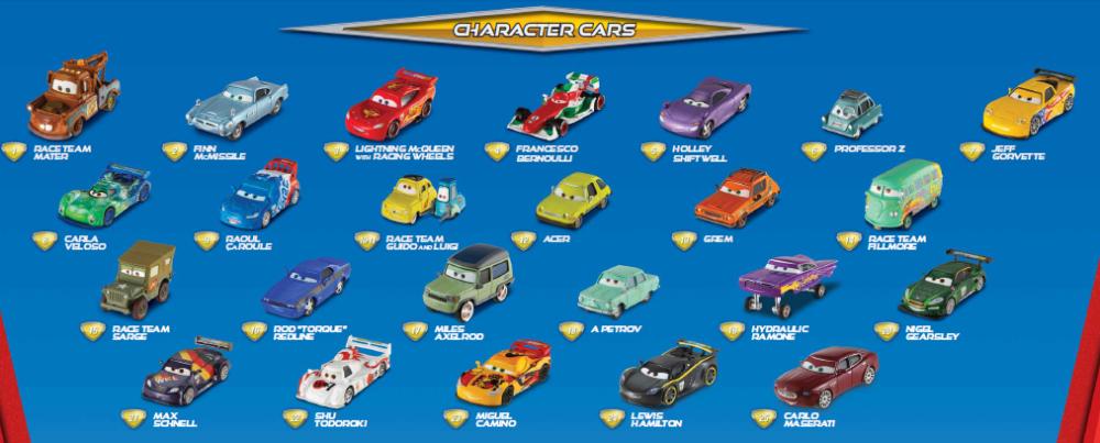 Voitures Cars 2 Mattel - Poster 2011 (4/6)