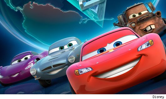Liste Voitures Cars 2 (2/2)