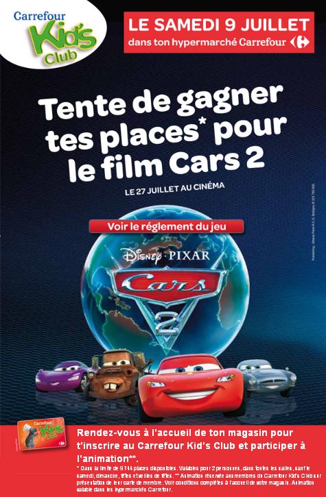 Comment Obtenir La Carte Carrefour Kids Club.Carrefour Disneycarsmania