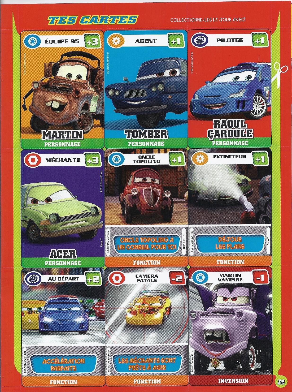 Magazine Disney Pixar Cars Mars 2012 46 171 Disneycarsmania