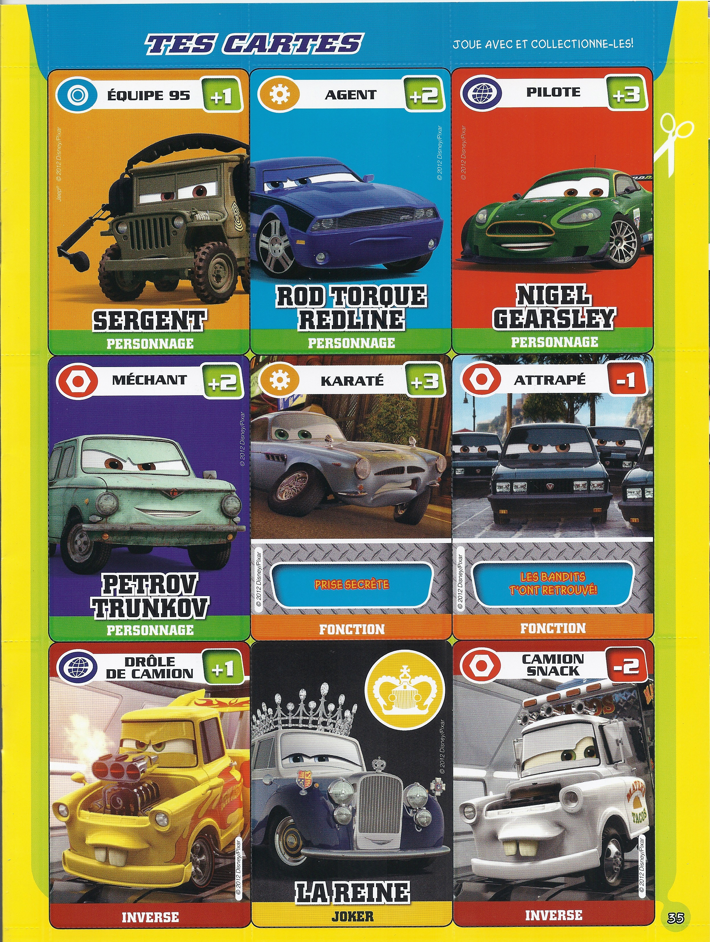 Magazine Disney Pixar Cars Mai 2012 48 171 Disneycarsmania