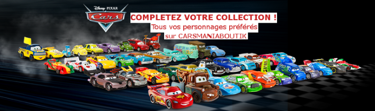 Liste Voitures Cars « Disneycarsmania