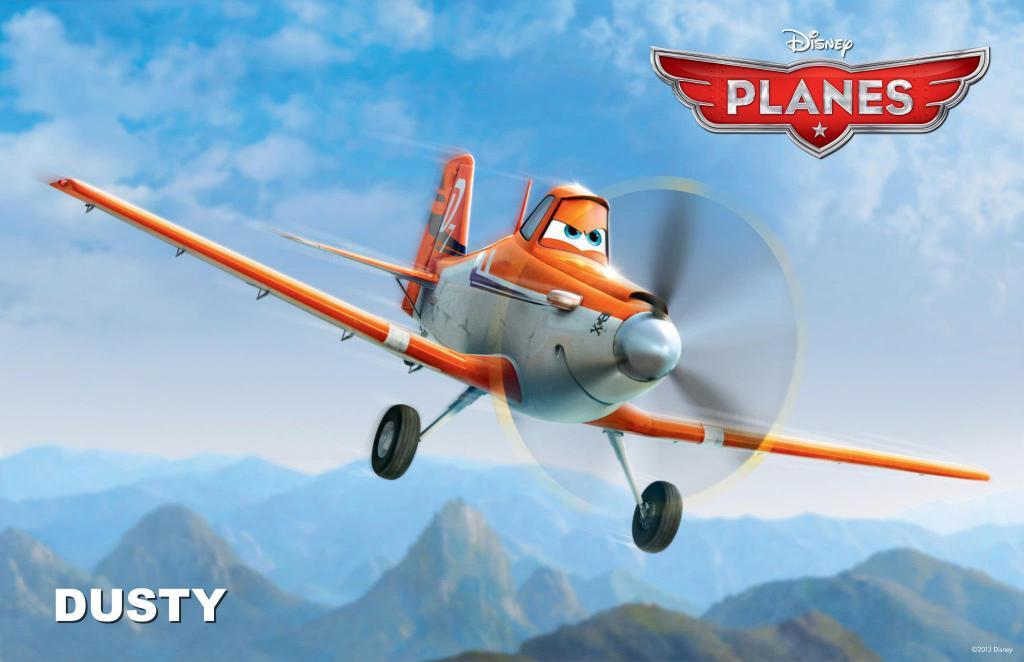 Fond ecran Dusty Planes
