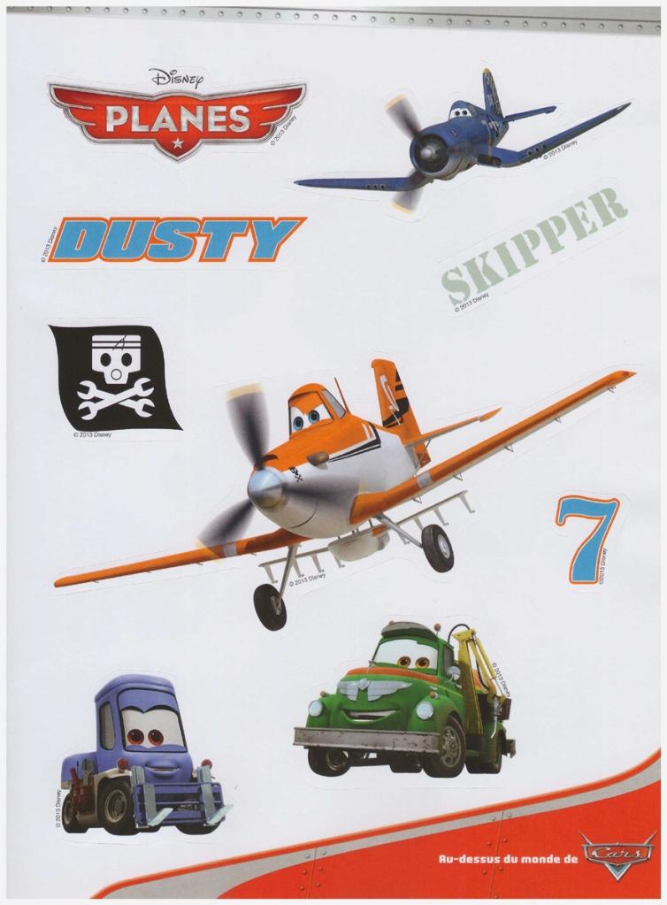 autocollant planes 65