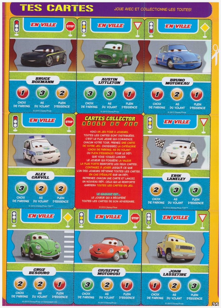 carte collector cars 65
