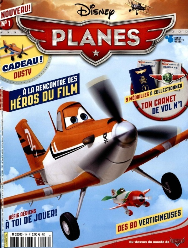 Magaine Disney Planes Octobre 2013