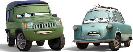 Miles Axlerod And Professor Zundapp Cars