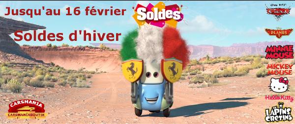 soldes Cars 2016