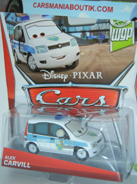 Alex Carvill voiture Cars 200