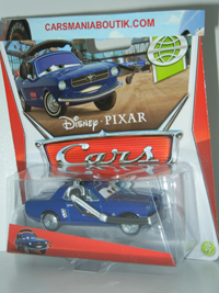 Brent Mustangburger voiture Cars 200