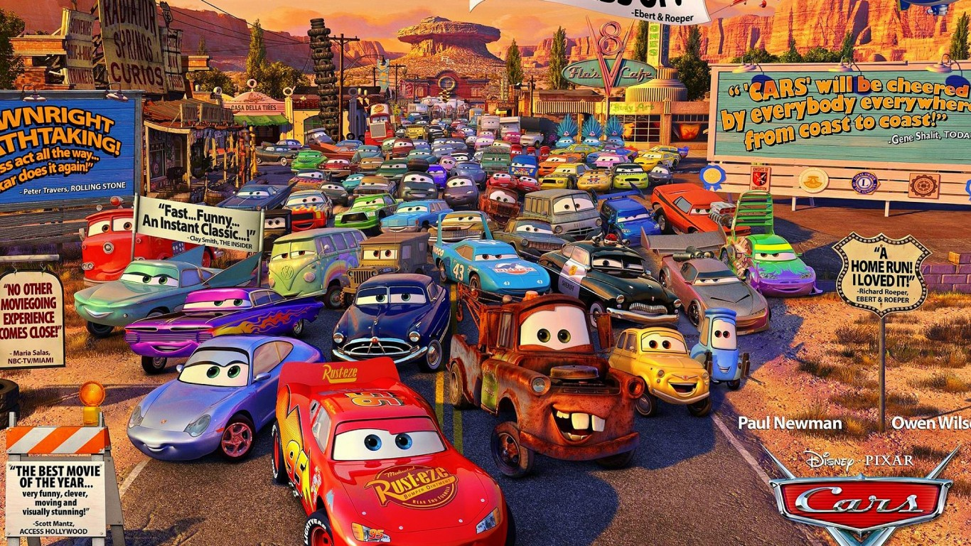 Cars  Piston Cup Racers