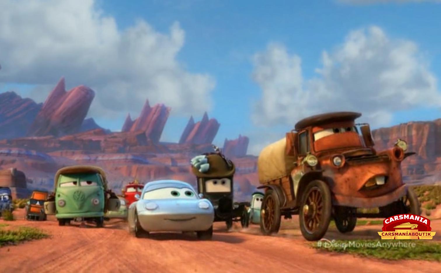 Radiator Springs Cars