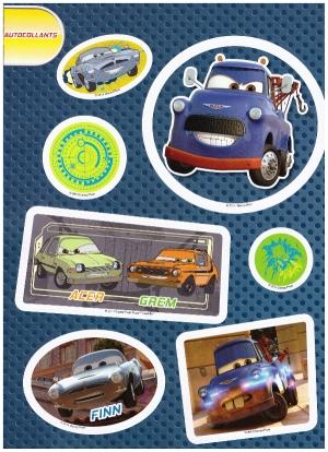 autocollant 1 magazine cars 73
