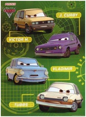 Cars le clan des mechants