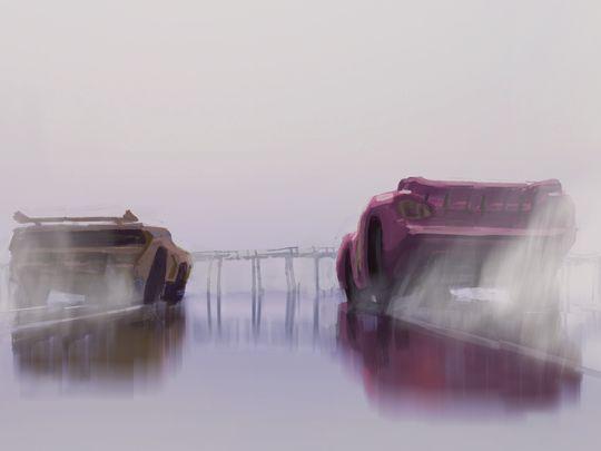 Cars 3 - Concept-Art-Cruz Ramirez McQueen (2)