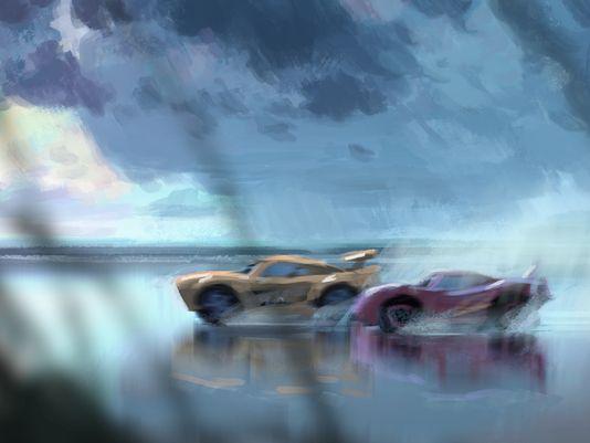 Cars 3 - Concept-Art-Cruz Ramirez McQueen